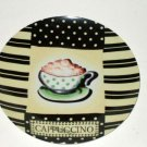 Cappuccino Ceramic Wall Plate