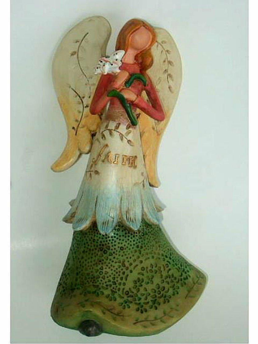 Angel Figurine Faith Statue