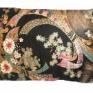 Black Floral Travel Pillow