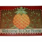 Tropical Pineapple Welcome Comfort Mat