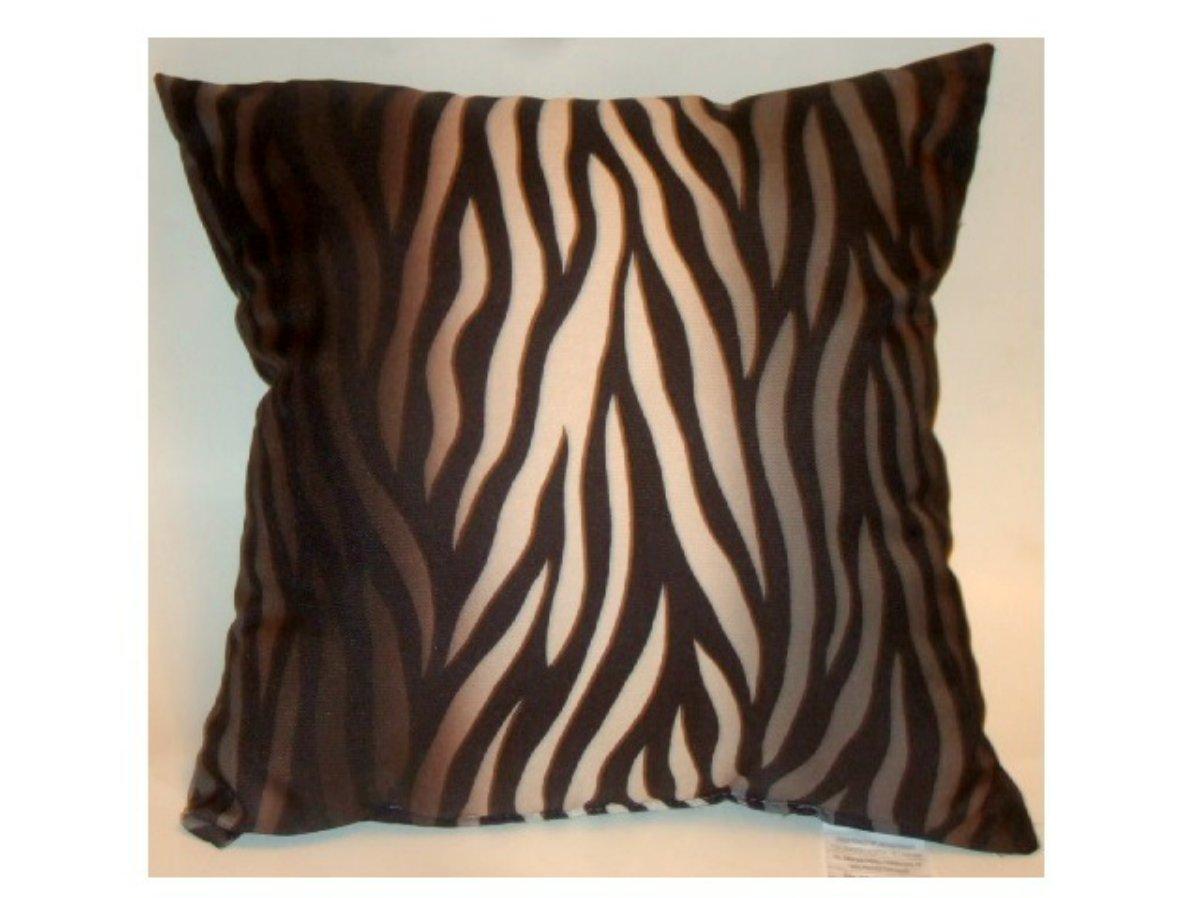 Zebra Stripe Decorative Toss Pillow