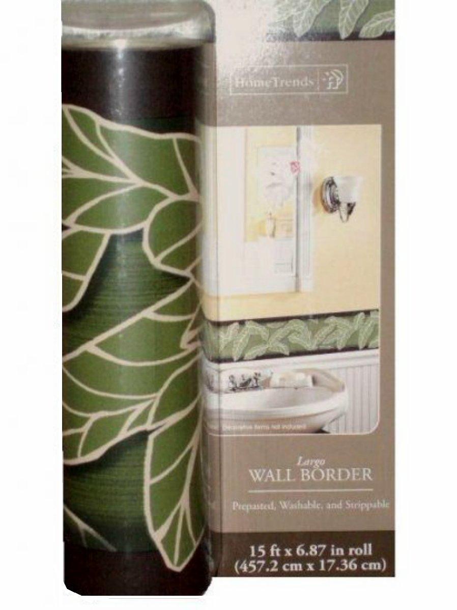 Tropical Largo Wall Border Botanical Wallpaper