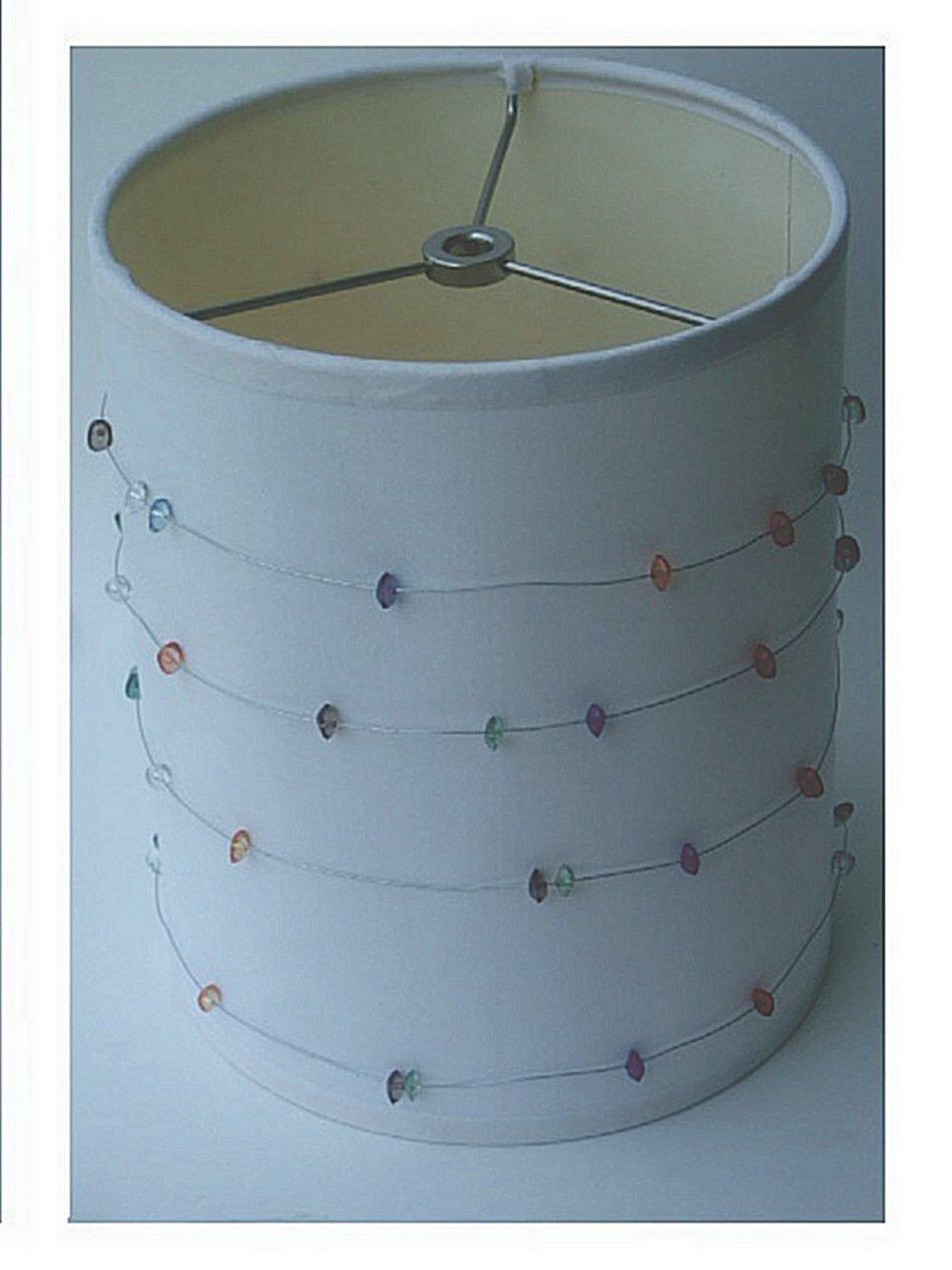 Beaded Lamp Shade