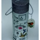 Birds Butterflies Dragonflies Wine Box Tube