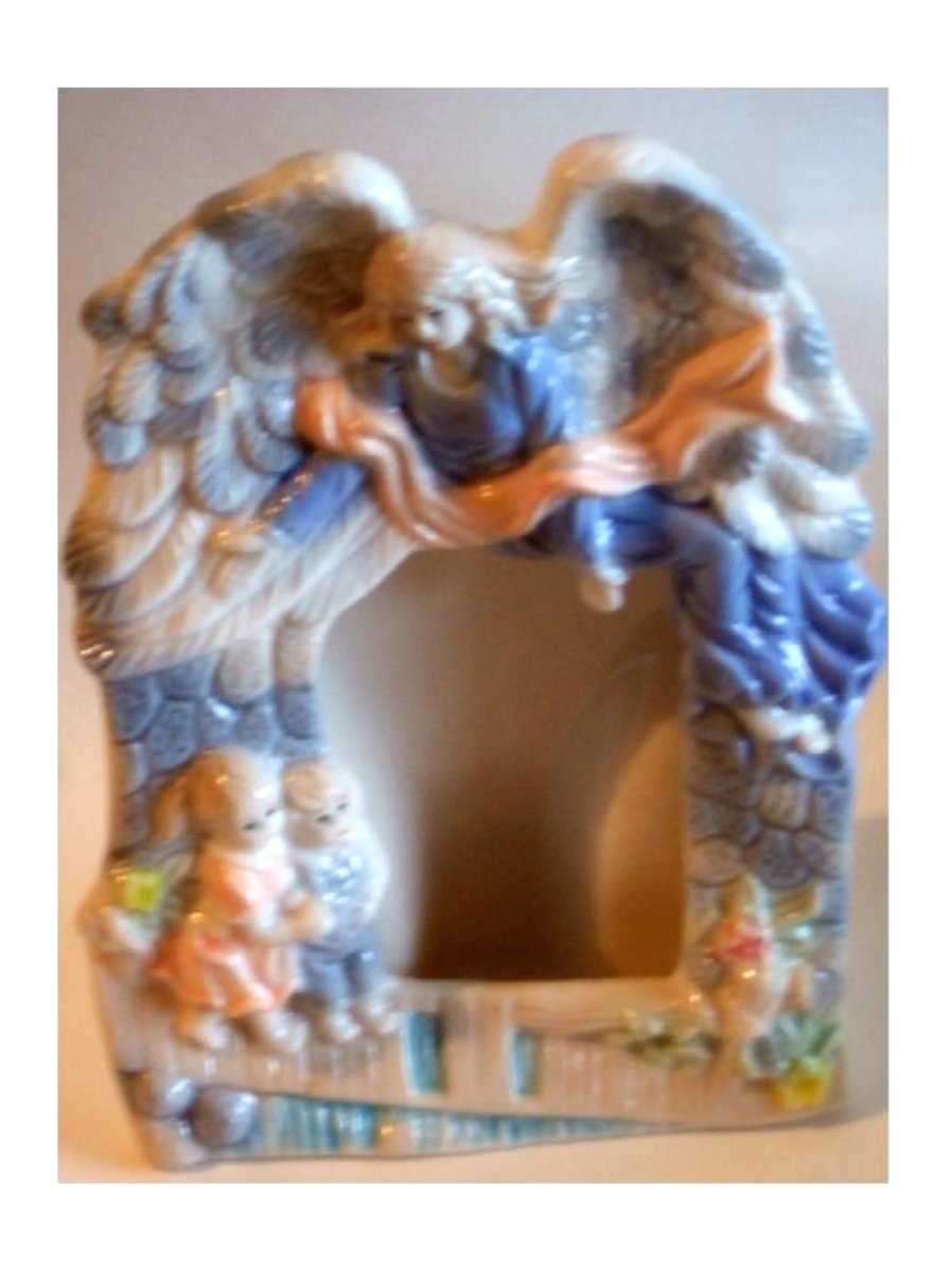 Angel Ceramic Photo Frame