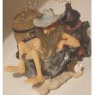 Hillbilly Moonshiner Figurine in Tub