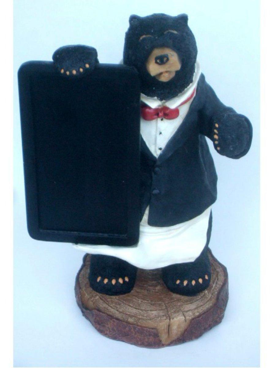 Black Bear Chef Menu Board