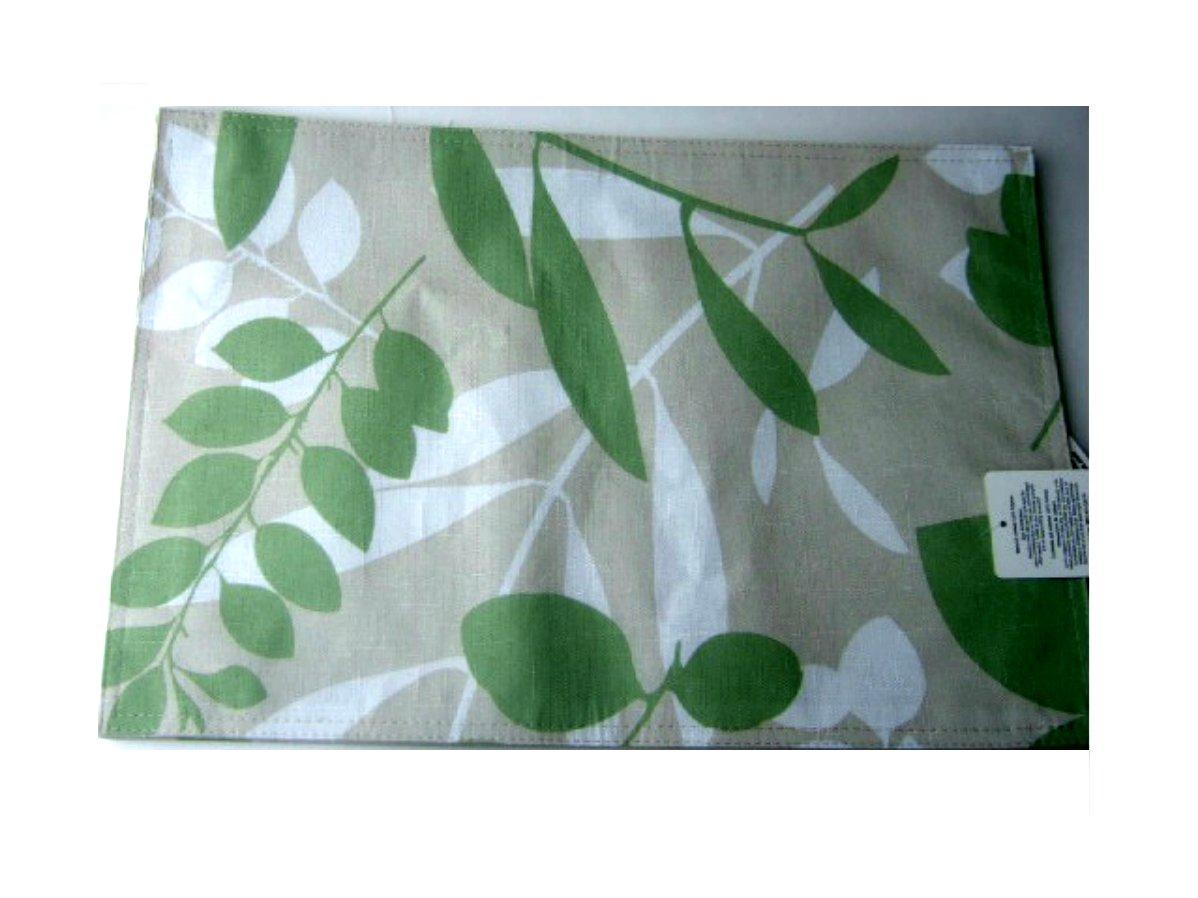Mason Leaves Fabric Placemats Set
