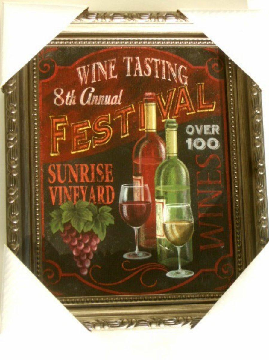 Wine Tasting Grapes Wall Art