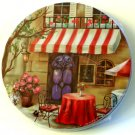 French Bistro Cafe Metal Range Stove Burner Covers Set