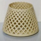 Home Interiors Ceramic Lattice Candle Shade Topper