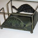 Turtle Napkin Holder Metal