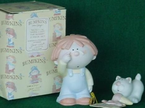 Bumpkins OOPS...LOST THE SCOOP a 2 PIECE Set 1984 with box