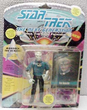 Mordock Star Trek TNG Action Figure by Playmates