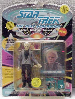Admiral McCoy Star Trek TNG Action Figure by Playmates