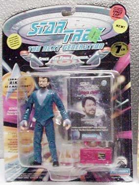 Malcorian Riker Star Trek TNG Action Figure by Playmates