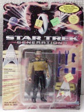 LaForge Star Trek Generations Action Figure Playmates