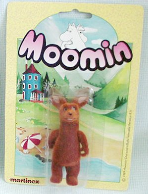 Moomin Valley Sniff Flocked Figure by Martinex
