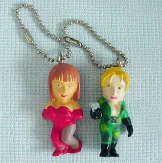 NAMCO Street Fighter Cammy  - Key Chains NOT Puzzle Fighter