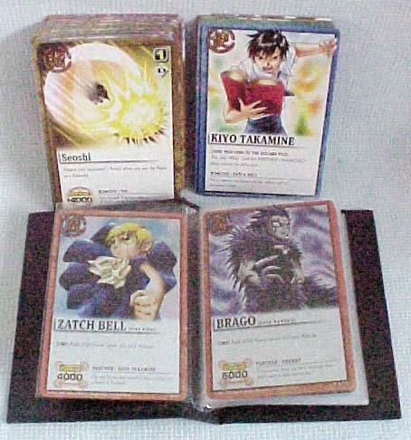 ZATCH BELL Series 1 CCG 50+ Card Lot