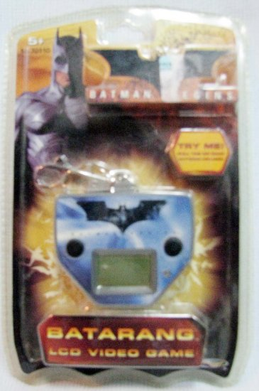 BATARANG Batman Begins LCD Game MIP