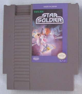 NES STAR SOLDIER Nintendo Video Games