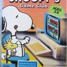 Vintage Peanuts SNOOPY GAME CLUB - IBM PC Game