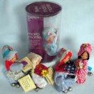 Vintage BELLES Clip-On Dolls by Maria Monte