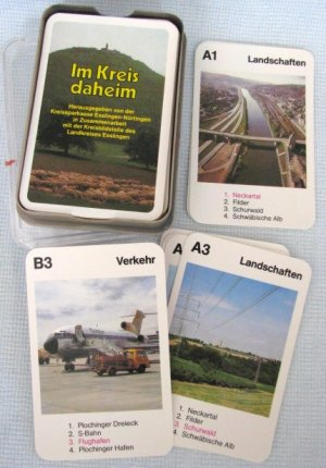 Ass IM KREIS DAHEIM Card Set German Spitzentrumpf