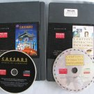 Philips CDi CAESARS WORLD OF GAMBLING + COMPTONS INTERACTIVE ENCYCLOPEDIA Video Games