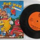 PAC-MAN RUN FOR FUN 45 Record & Book