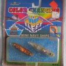 Vintage MINI NAVY SHIPS Color Changers MOC