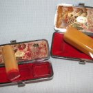Japanese Inkan Wood Stamps and Clutch Cases