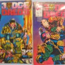 JUDGE DREDD #11  #12 Quality Comics 1987