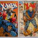 X-MEN #294  #295 Marvel Comics 1992