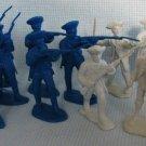 Civil War Cavalry Plastic Figures Lot Toy Soldiers