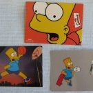 THE SIMPSONS Global Fanfest Promo Card + Bart Knows