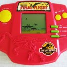 FINAL FLIGHT The Lost World Handheld LCD Game