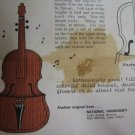 Vintage Magic Violin Planter National Handcraft Society