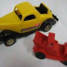 Strombecker '36 FORD COUPE + 1909 TAXI CAB Plastic Cars