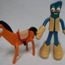 GUMBY & POKEY Bendy Figures with Accessories