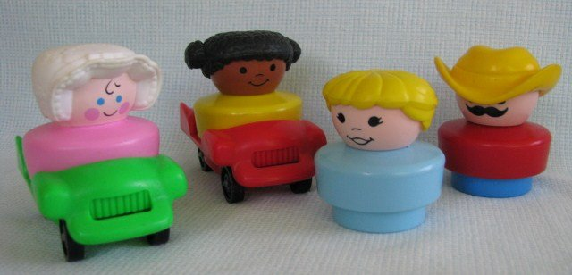 Chunky Little People Collection Fisher Price