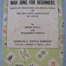 Mah Jong For Beginners Rule Book