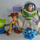 Disney Pixar TOY STORY Buzz & Woody Figures