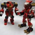 Power Rangers Red Tyranno + Primal Gorilla Bandai Action Figures