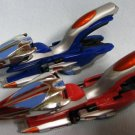 Power Rangers Time Force 2 Strata Cycles Red + Blue