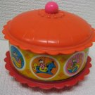 Infant Chimes Toy Carousel Vintage