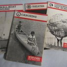 BSA Merit Badge Books - Sailing Canoeing Theater Citizenship Boy Scouts