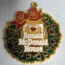 1996 Ronald McDonald House Hawaii Gold Dangler McDonalds