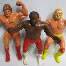 WWF Junk Yard Dog + Hulk Hogan + Mr. Wonderful LJN